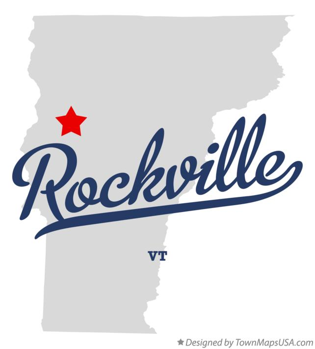 Map of Rockville Vermont VT