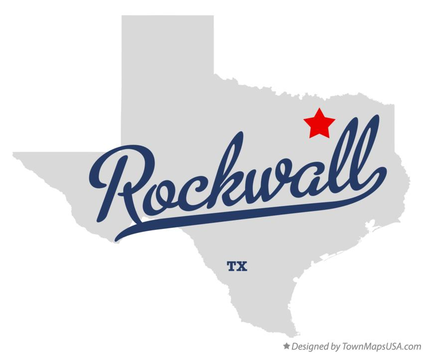 Where Is Rockwall Texas On A Map