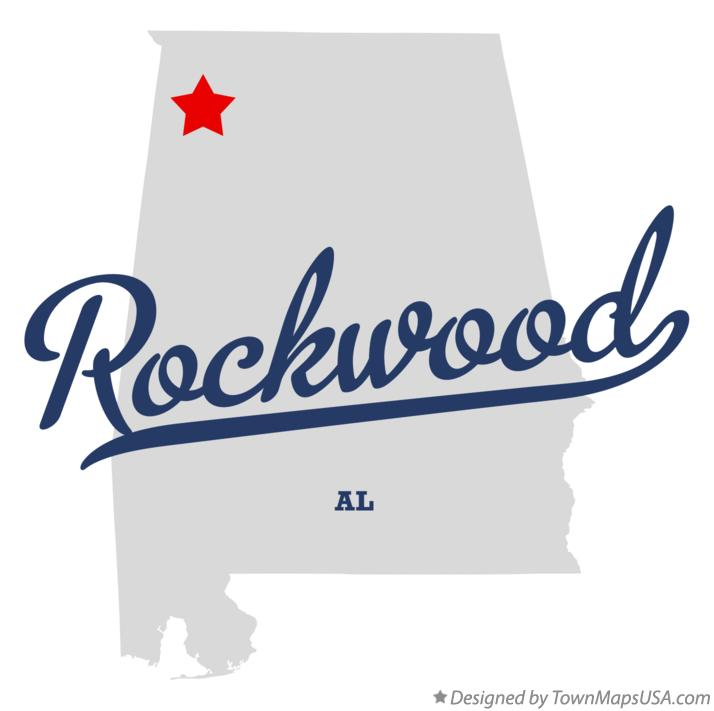 Map of Rockwood Alabama AL