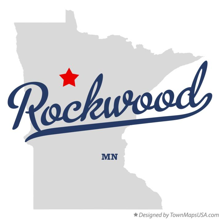 Map of Rockwood Minnesota MN
