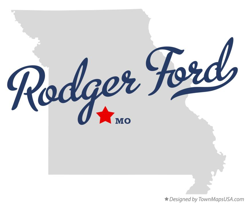 Map of Rodger Ford Missouri MO