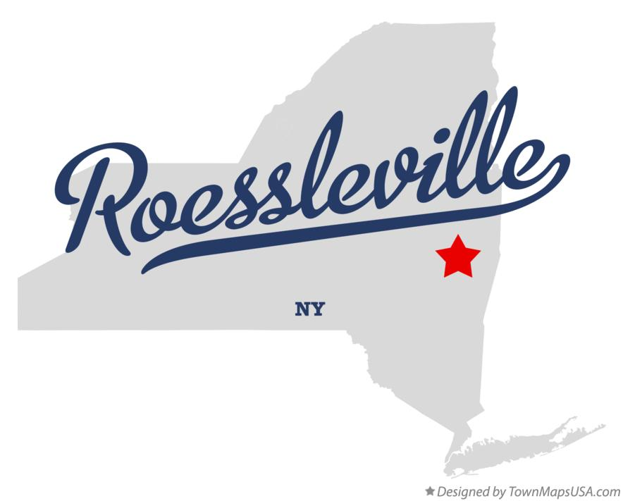 Map of Roessleville New York NY