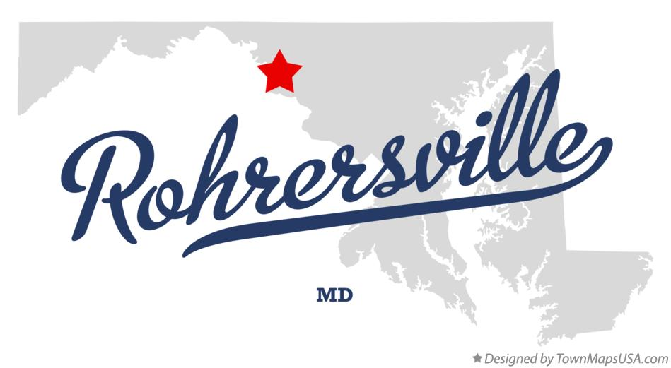Map of Rohrersville Maryland MD