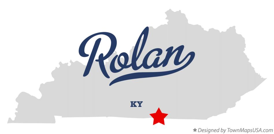Map of Rolan Kentucky KY