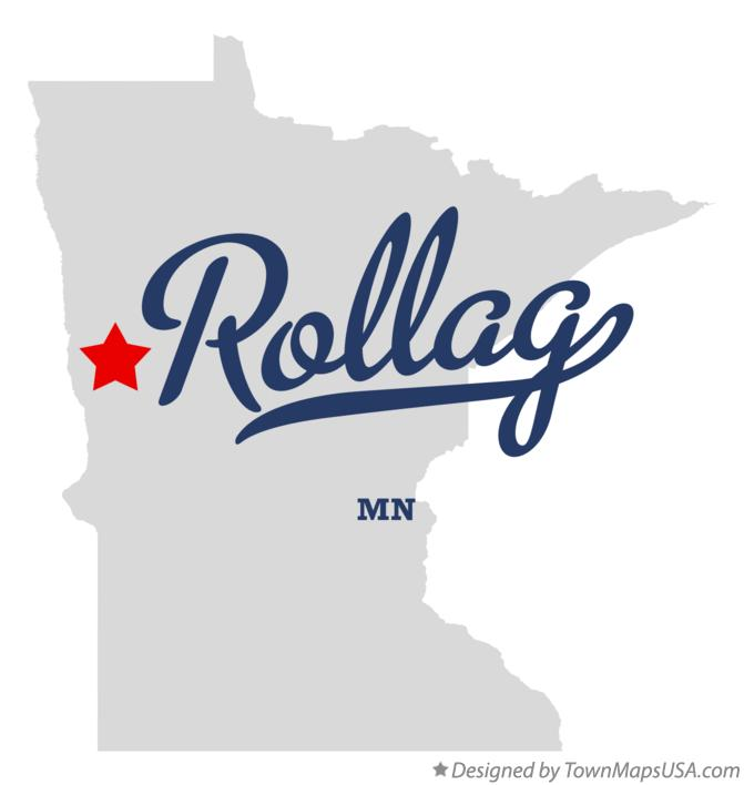 Map of Rollag Minnesota MN
