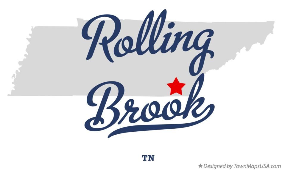 Map of Rolling Brook Tennessee TN