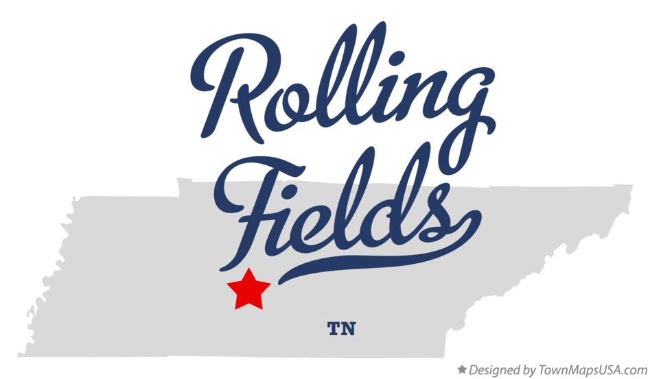 Map of Rolling Fields Tennessee TN