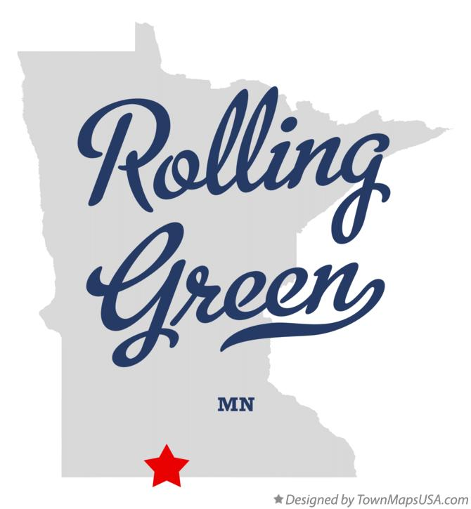 Map of Rolling Green Minnesota MN