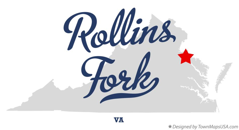Map of Rollins Fork Virginia VA
