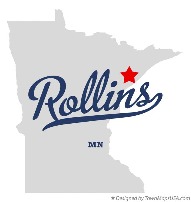 Map of Rollins Minnesota MN