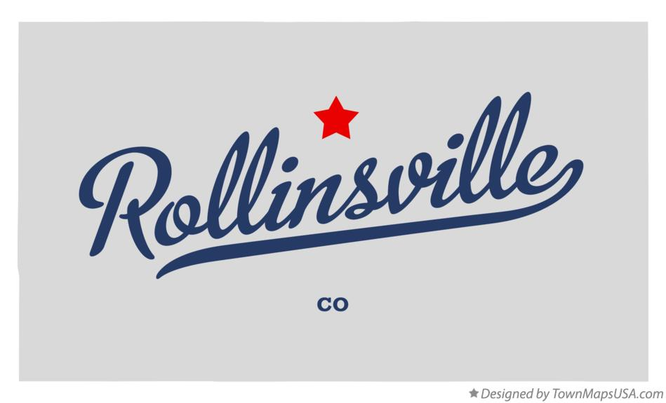 Map of Rollinsville Colorado CO