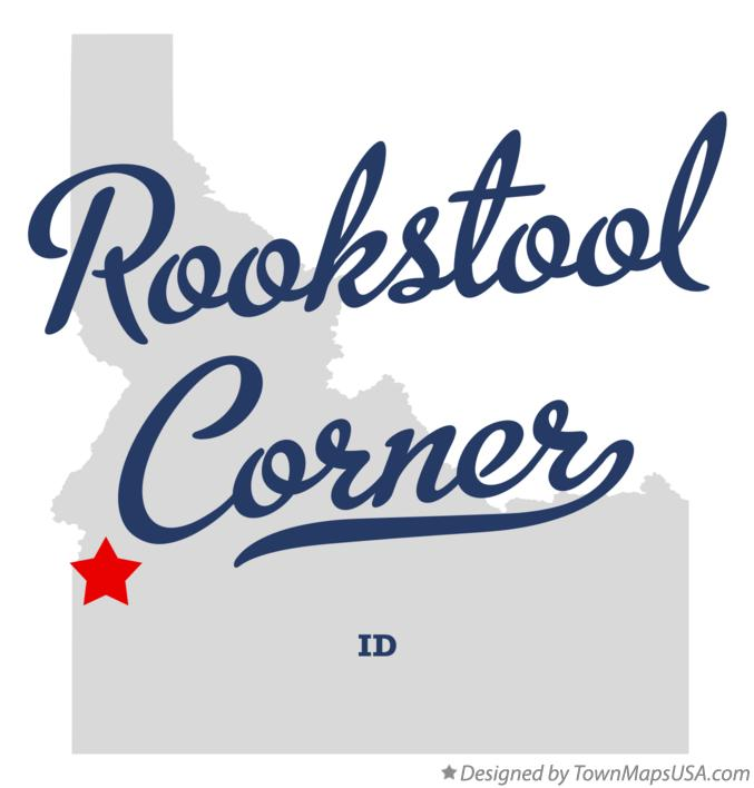 Map of Rookstool Corner Idaho ID