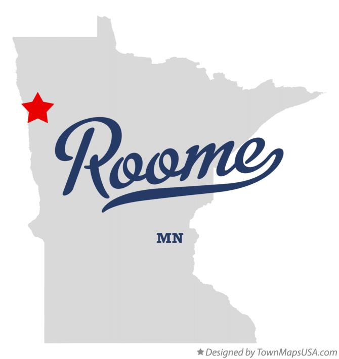 Map of Roome Minnesota MN