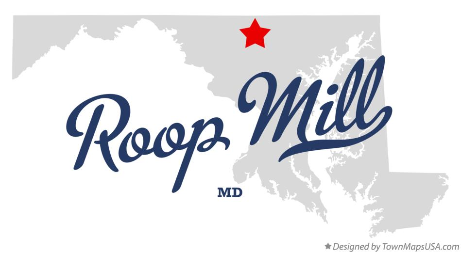 Map of Roop Mill Maryland MD