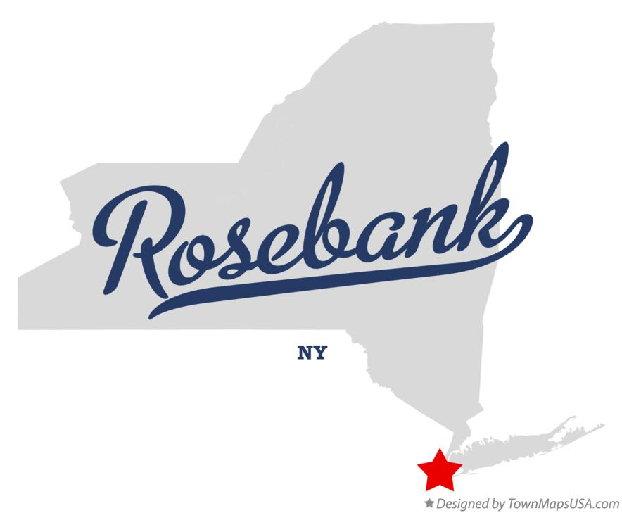 Map of Rosebank New York NY