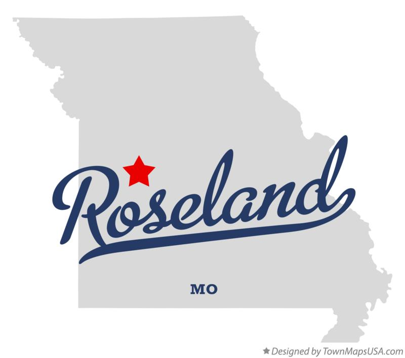 Map of Roseland Missouri MO