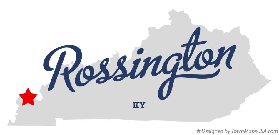Map of Rossington Kentucky KY