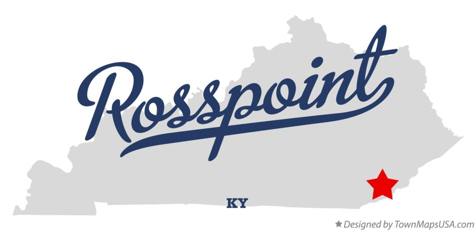 Map of Rosspoint Kentucky KY