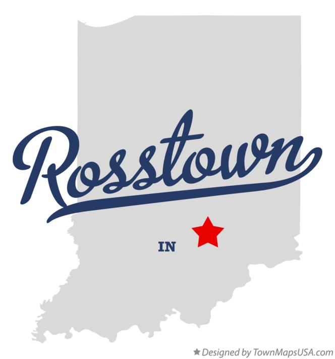 Map of Rosstown Indiana IN