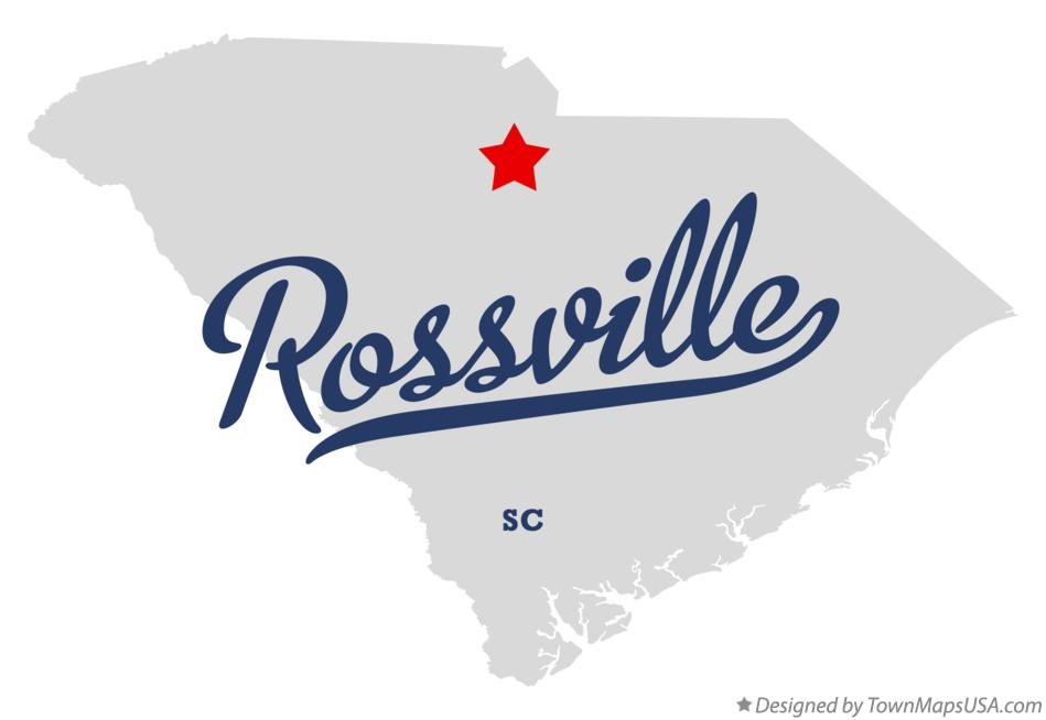 Map of Rossville South Carolina SC