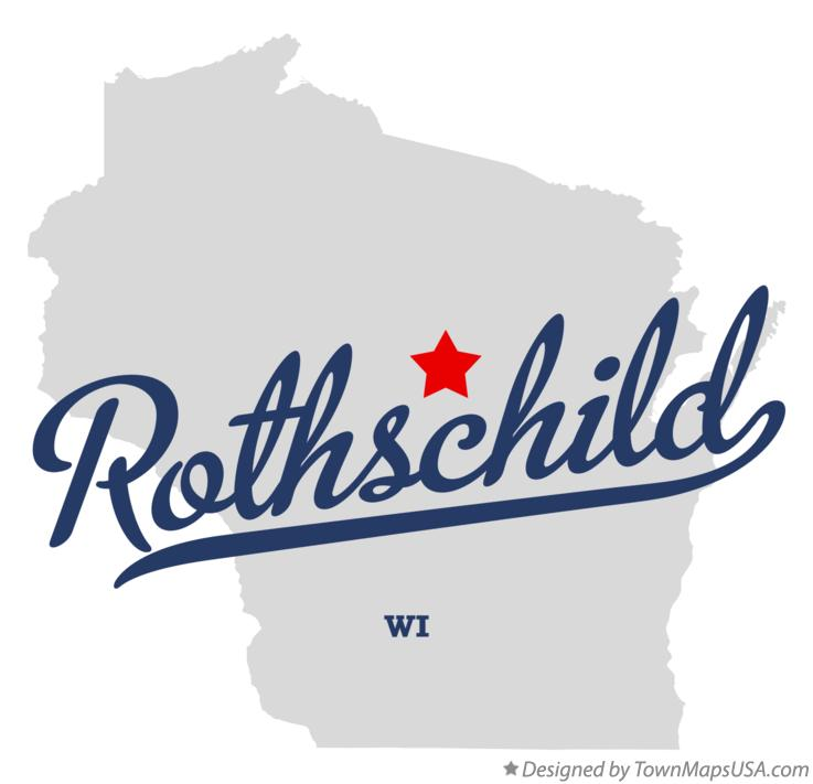 Map of Rothschild Wisconsin WI