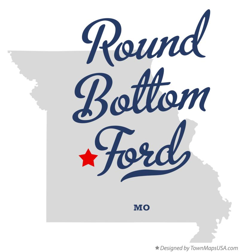 Map of Round Bottom Ford Missouri MO