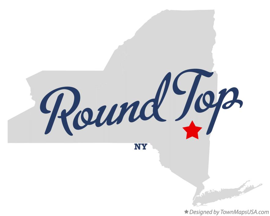 Map of Round Top New York NY