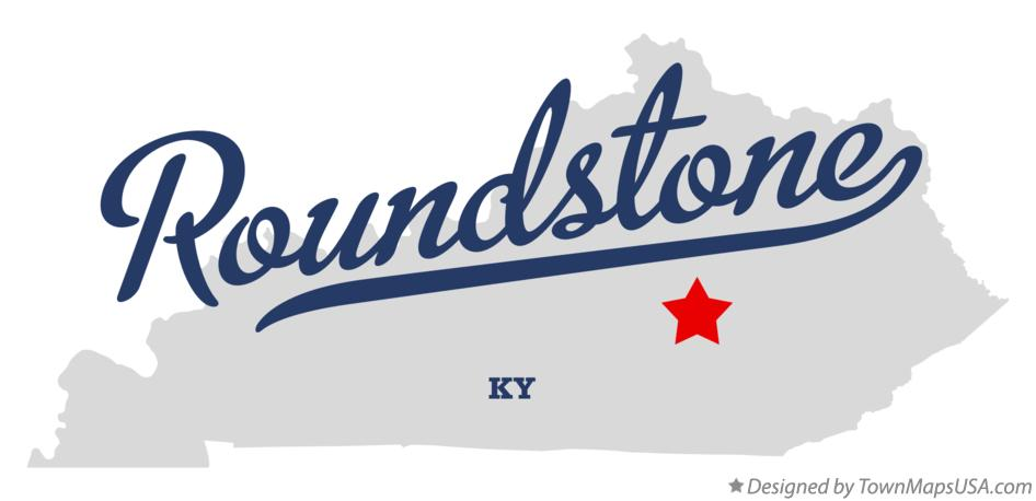 Map of Roundstone Kentucky KY