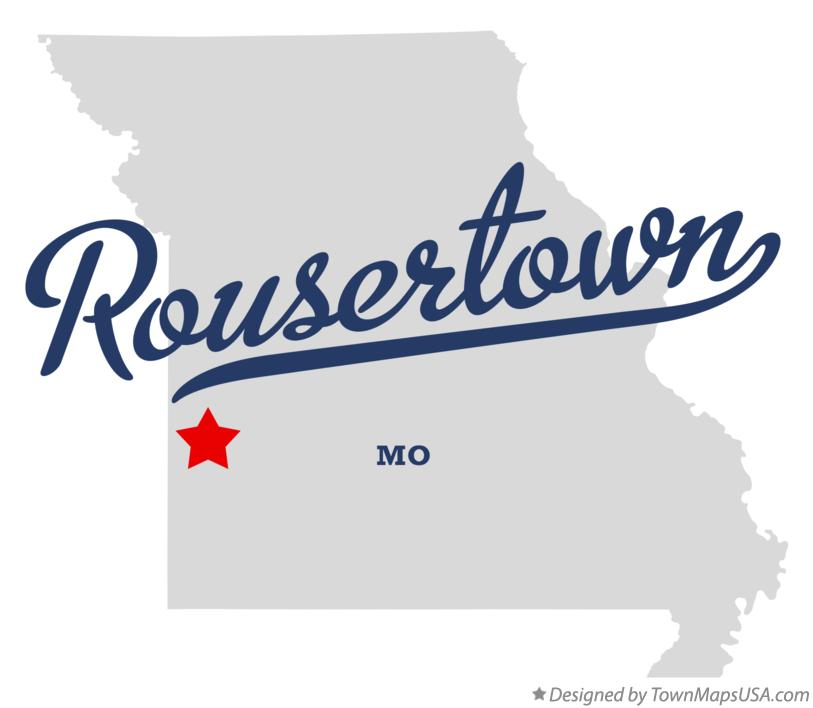 Map of Rousertown Missouri MO