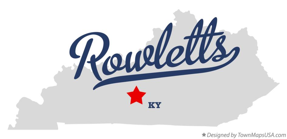 Map of Rowletts Kentucky KY