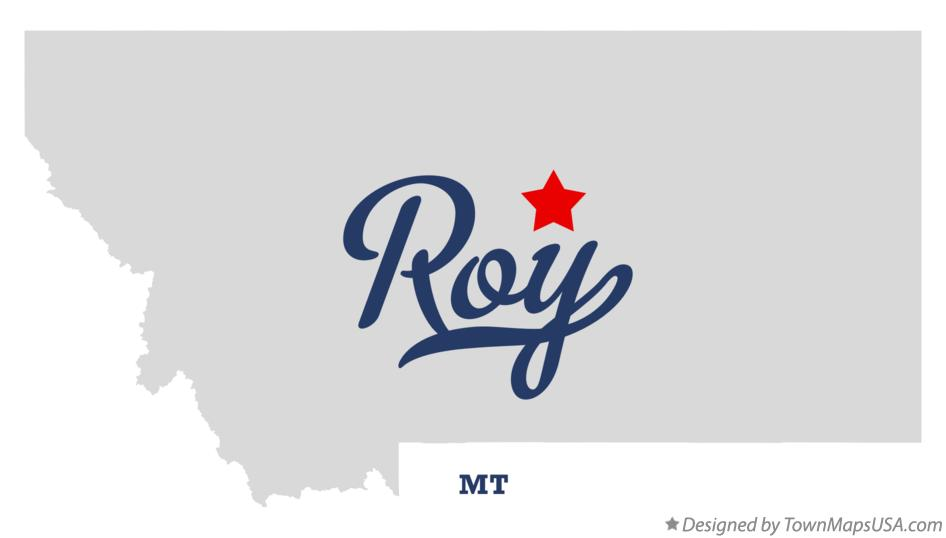 Map of Roy Montana MT