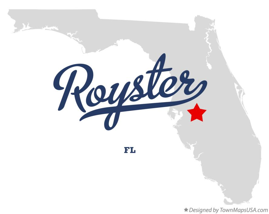 Map of Royster Florida FL
