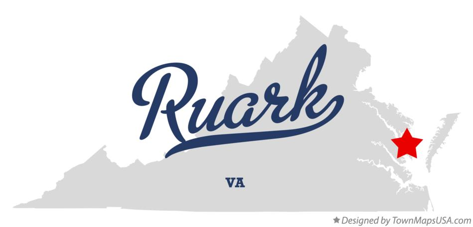 Map of Ruark Virginia VA