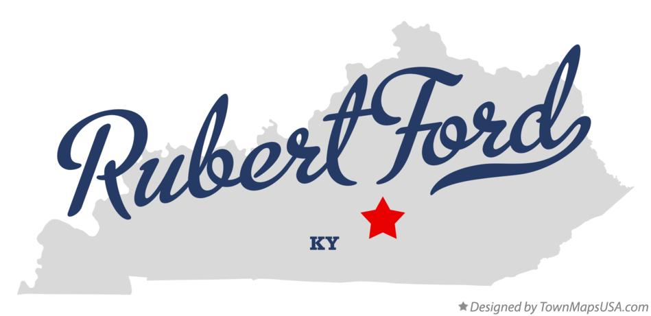 Map of Rubert Ford Kentucky KY
