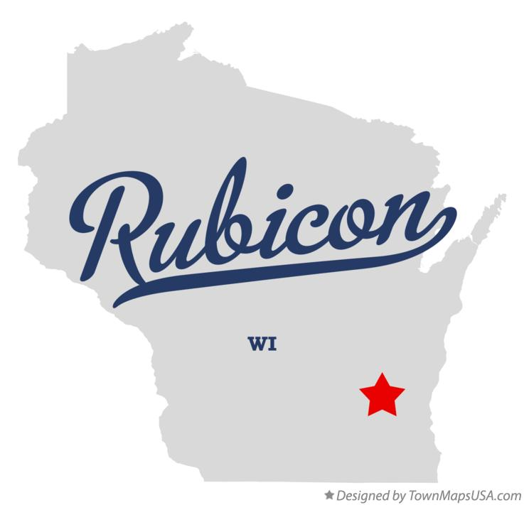 Map of Rubicon Wisconsin WI