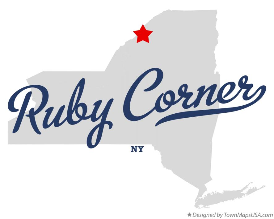 Map of Ruby Corner New York NY