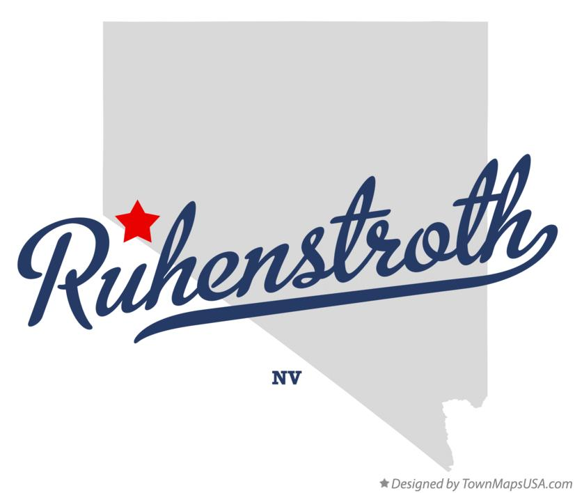 Map of Ruhenstroth Nevada NV