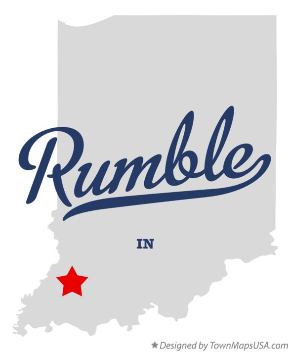 Map of Rumble Indiana IN