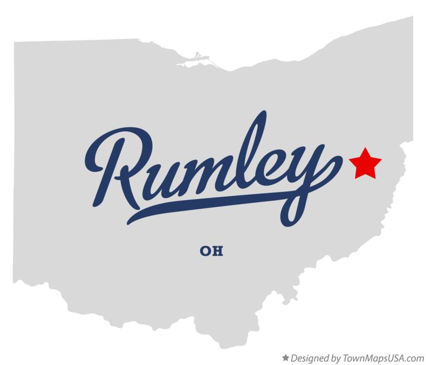 Map of Rumley Ohio OH