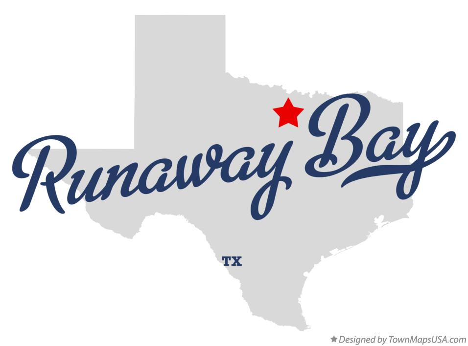 Map of Runaway Bay Texas TX