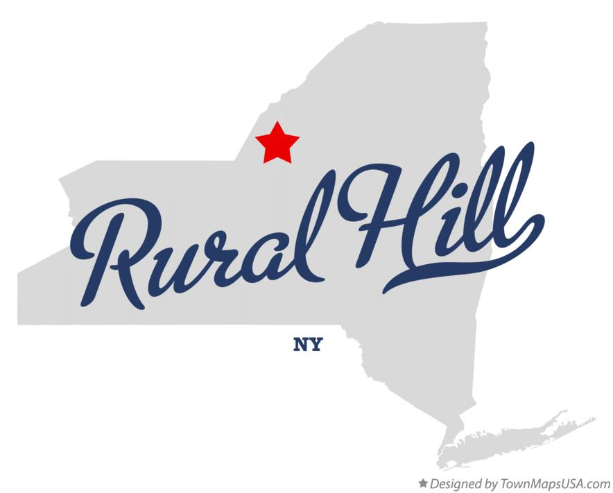 Map of Rural Hill New York NY