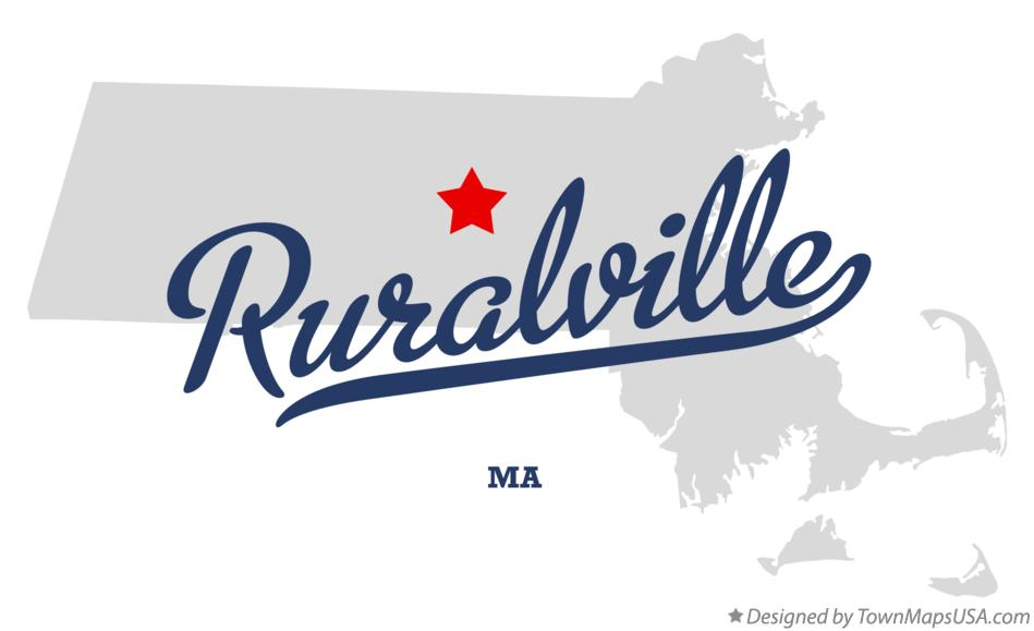 Map of Ruralville Massachusetts MA