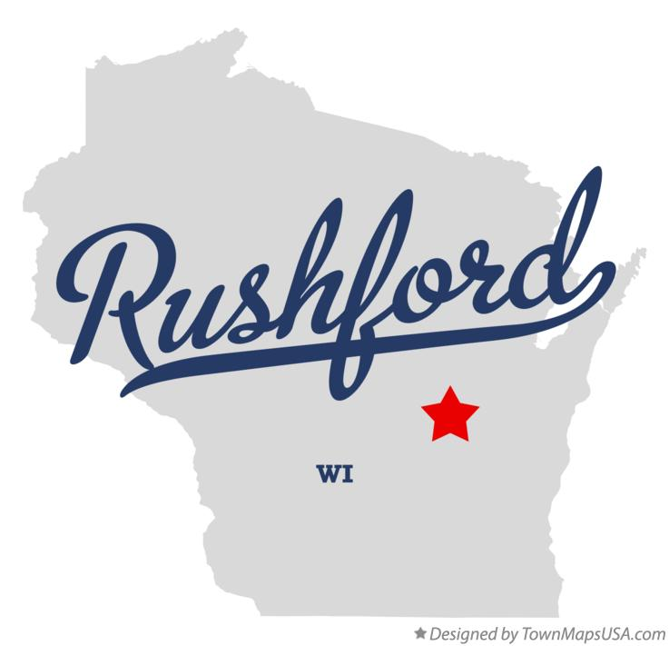 Map of Rushford Wisconsin WI