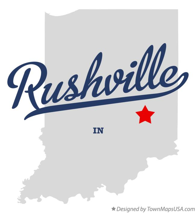 Http Townmapsusa Com D Map Of Rushville Indiana In Rushville In