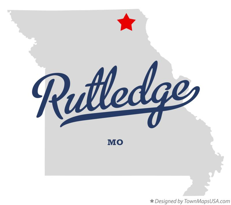 Map of Rutledge Missouri MO