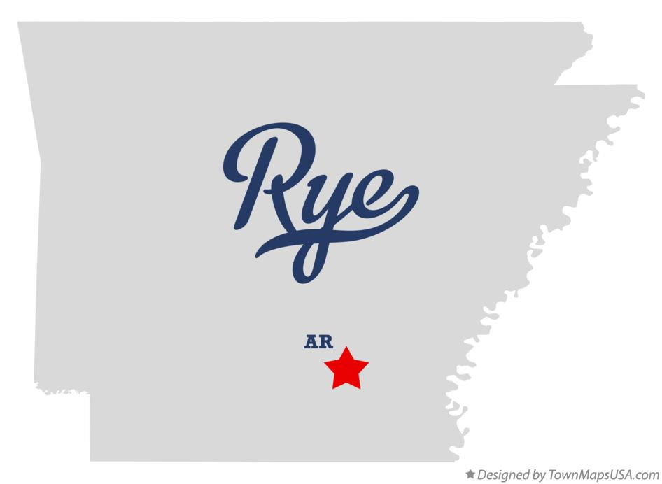 Map of Rye Arkansas AR