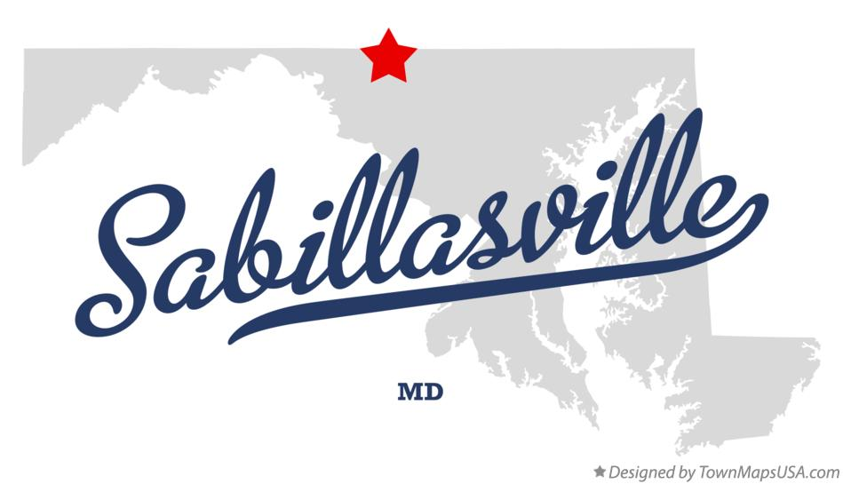 Map of Sabillasville Maryland MD