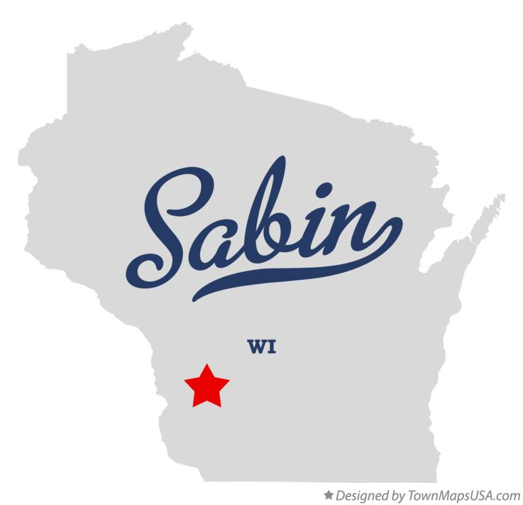 Map of Sabin Wisconsin WI