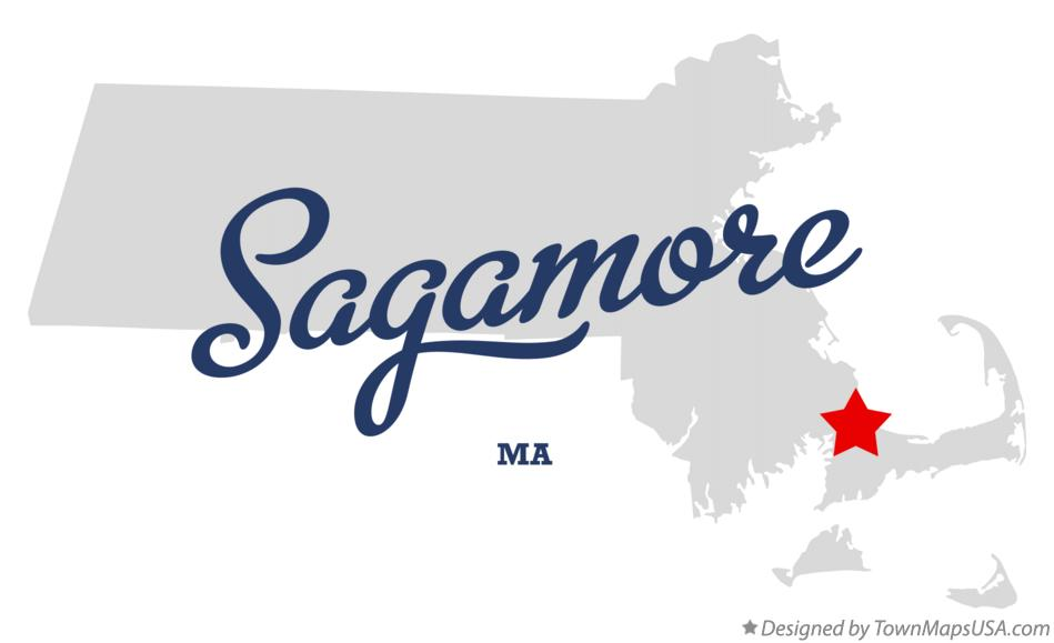 Map of Sagamore Massachusetts MA