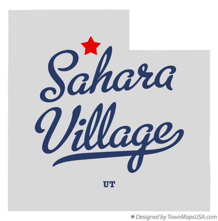 Map of Sahara Village Utah UT